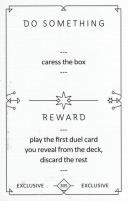 Kickstarter Exclusive Promo Cards