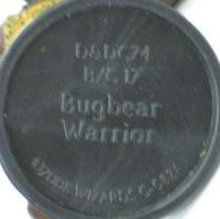 Bugbear Warrior (RPGA Repaint)