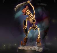 Art of Small World - Skeleton