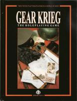 Gear Krieg the RPG