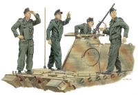 """Achtung-Jaboi"" Panzer Crew - France 1944"