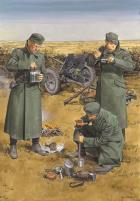 """""""Chow Time"""" - German Anti-Tank Gun Crew w/3.7cm PaK 35/36, Eastern Front"""