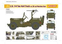 1/4 Ton 4x4 Armored Truck w/0.30 cal Machine Gun