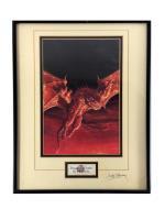 Dragons of Faith (Framed)