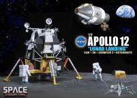 "Apollo 12 ""Lunar Landing"" CSM w/Lunar Module"