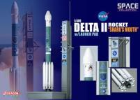 """Delta II Rocket USAF """"GPS-IIR-16"""" - """"Shark's Mouth"""" (1/400)"""
