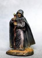 Female Witch - Old Crone w/Staff
