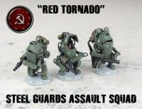 Steel Guards Assault Squad - Red Tornado