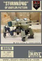 Heavy Panzer Walker - Sturmkonig, Babylon Pattern (Premium Edition)