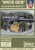 Allied Artillery Crew - Set #1, Winter Crew (Premium Edition)