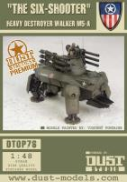 Heavy Destroyer Walker M5-A - The Six-Shooter, Cerberus Pattern (Premium Edition)