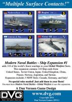 Modern Naval Battles - Global Warfare, Ship Expansion #1