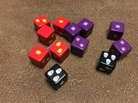 Bot War Dice and Energy Cube Set