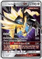 Dusk Mane Necrozma GX (Ultra R) #90 (Holo)