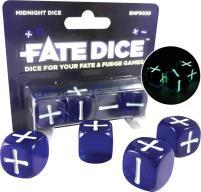 Midnight Fate Dice (4)
