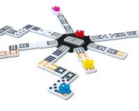 Mexican Train Double 12 Dominoes, The - Tin Set