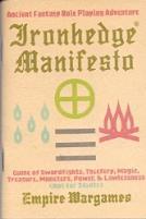 Ironhedge Manifesto