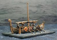 8 Dark Age Orsmen and a Helmsman