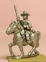 Cavalry/Dragoons in Wide Brim Hats - Holding Carbine