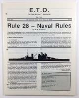 "#34 ""Rule #28 - Naval Rules, Finnish Orders of Battle 1939-1945"""
