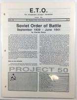 """#49 """"Soviet Order of Battle 1939-1941, Soviet National Data Sheet"""""""