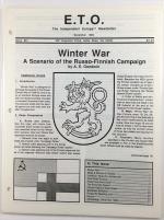 """#51 """"Winter War - A Scenario of the Russo-Finnish Campaign"""""""