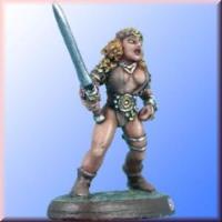 Female Warrior - Female Warrior w/Long Sword
