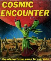 Cosmic Encounter (1st Edition, 2nd Printing)