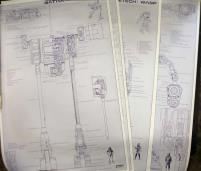 Battletech Technical Blueprints (Tube Version)
