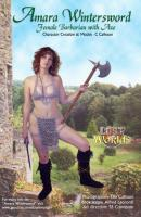 Amara Wintersword - Female Barbarian with Axe