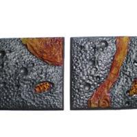 40mm & 50mm Square Bases - Random