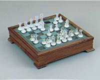 German Crystal Chess Set