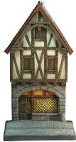 2 Floored Medieval House - Front Side
