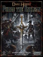 Purge the Unclean (1st Printing)
