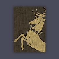 Card Sleeves - Standard CCG Size, House Baratheon (10 Packs of 50)