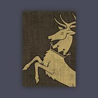 Card Sleeves - Standard CCG Size, House Baratheon (50)