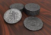 Robin Hood and the Merry Men Metal Coins