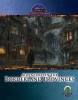 Adventures in the Borderland Provinces (Swords & Wizardry)