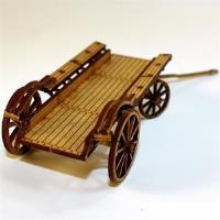 Ox/Flat Bed Wagon