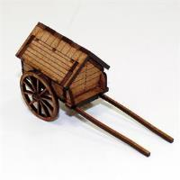 Army Strongbox Baggage Cart (16th & 17th Century)