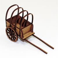 Covered Baggage Cart (16th & 17th Century)