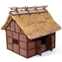 Village Rice Barn (Pre-Painted)