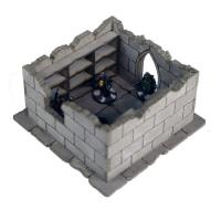 Frozen City Ruins - Library/Storeroom (Pre-Painted)