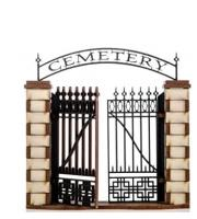 Cemetery Entrance (Pre-Painted)
