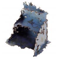 U-Shaped Necrotek Ruin (Blued Steel) (Pre-Painted)