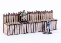 """6"""" Long Stockade Wall"""