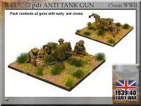 2pdr Anti-Tank Guns w/Crew