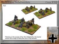 21cm Nebelwerfer w/Crew