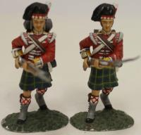 2nd Battalion - 92nd Highlanders Advancing #1
