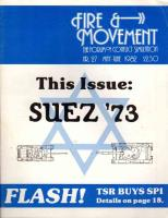 """#27 """"Suez '73, A House Divided, Eastern Front"""""""
